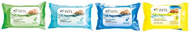 Toallitas Refrescantes para Perros y Gatos