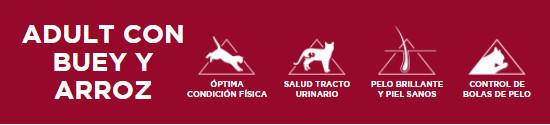 Libra Adult con Ternera y Arroz para Gatos