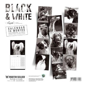 Calendario Black & White 2018