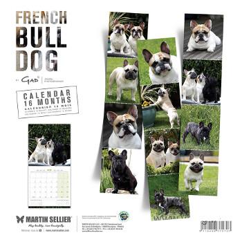 Calendario Bulldog Frances 2018