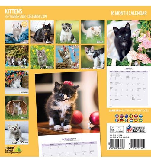 Calendario de Gatitos 2019