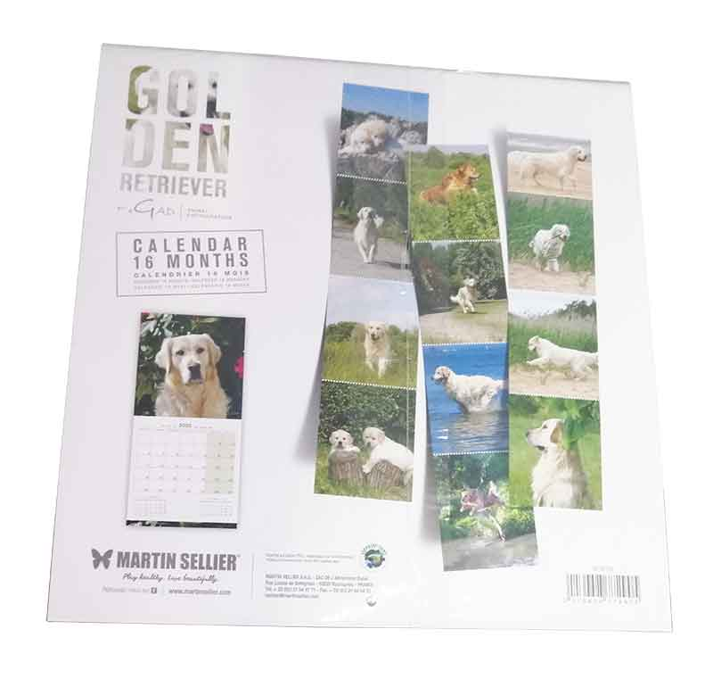 Calendario Golden Retriever 2020