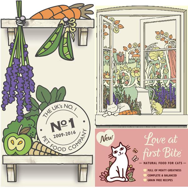 Tarrina Lily´s Kitchen catch of the day para gatos 85g