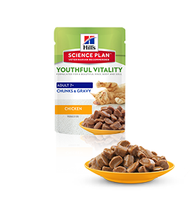 Hill's Feline Youthful Vitality sobre con pollo 85g