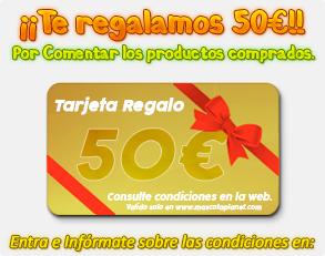 Te regalamos 50€ por comentar nuestros productos